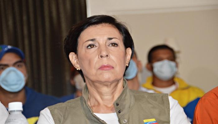 """Antonieta López en el programa """"Vladimir a la 1"""" aseguro que en el golpe de estado de 2002 López no metió preso a ninguna persona."""