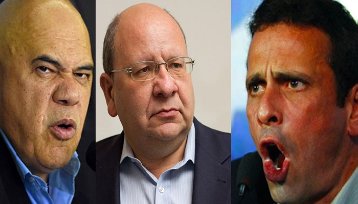 Capriles quiere sacar a Chuo