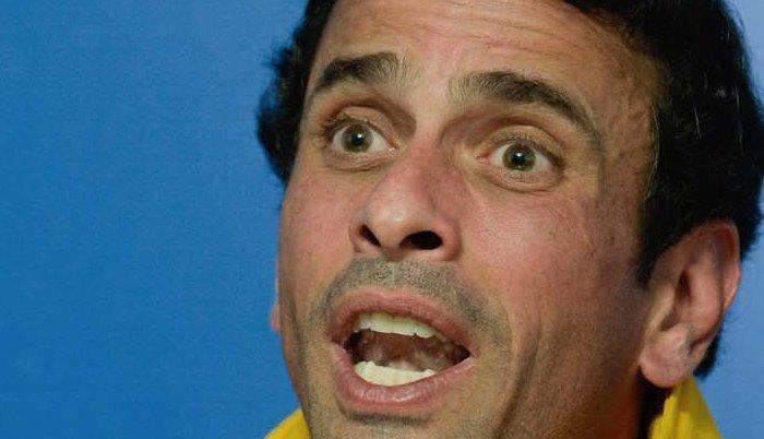 Capriles llama a trancar el país