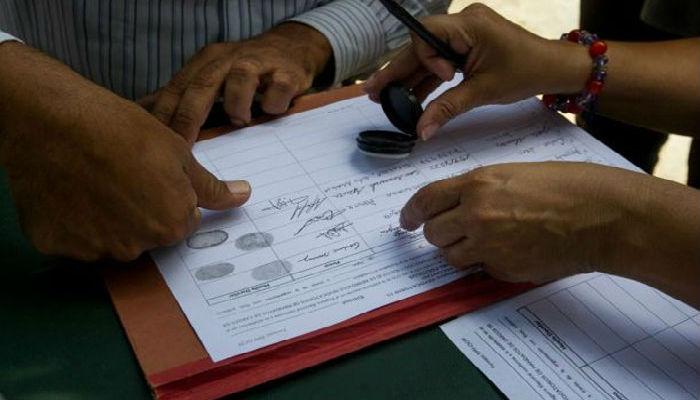 MUD admite fraude en firmas