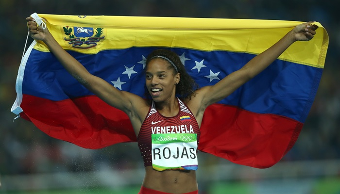 Opositores atacan Medallista Olímpica venezolana
