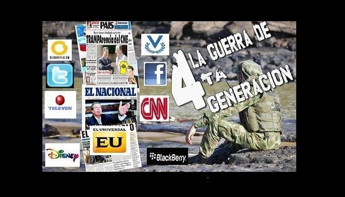 Venezuela sufre bombardeo mediatico