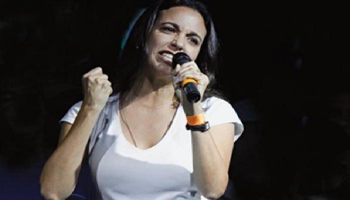 María Corina Machado hambre