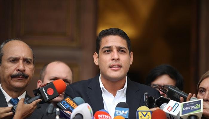 José Olivares apoyo diálogo