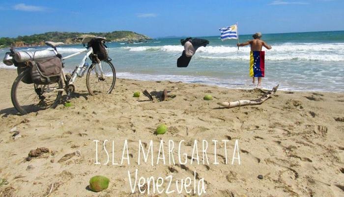 Ciclista uruguayo Venezuela