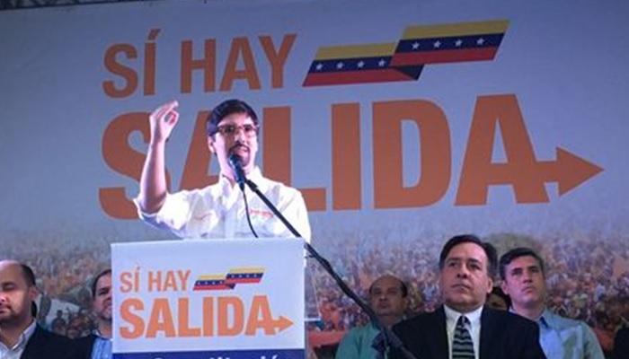 Freddy Guevara golpista