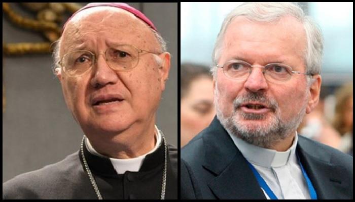 Monseñor Celli y Monseñor Aldo