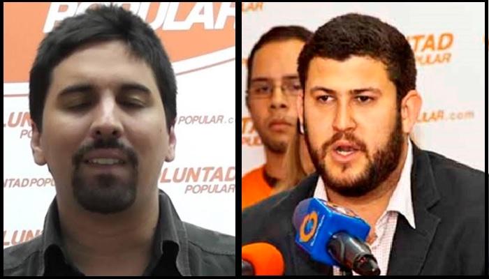 Freddy Guevara y David Smolanski