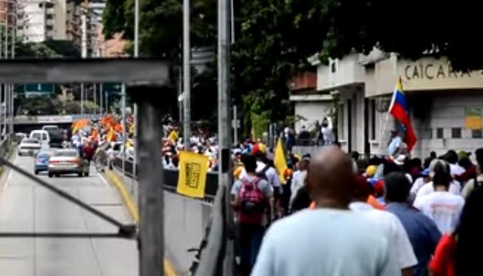 Robo Periodistas Marcha 23E