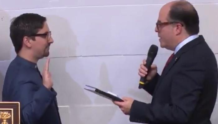 Oposición intervencionista Freddy Guevara Julio Borges