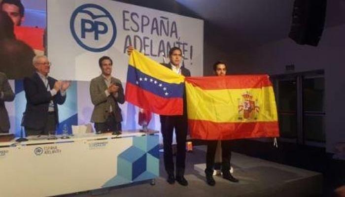 Voluntad Popular España Lester Toledo