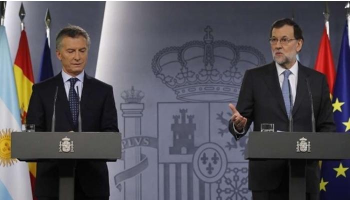 Mauricio Macri Mariano Rajoy
