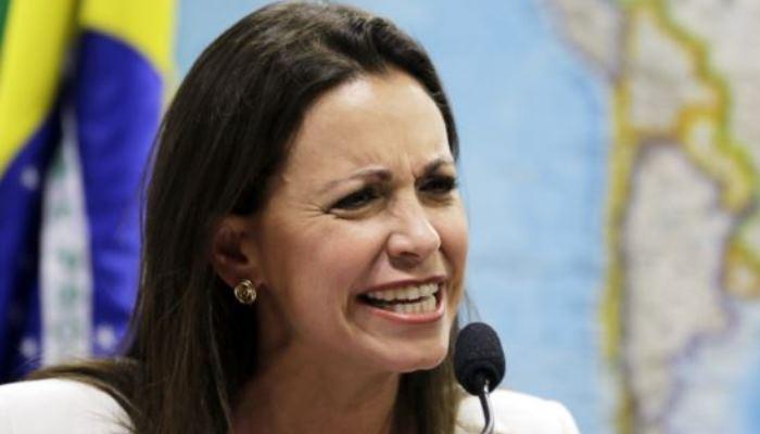María Corina Machado convivencia