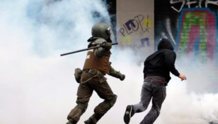 Chile - policías