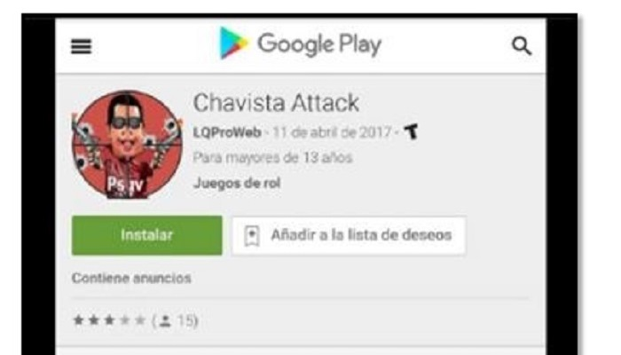 """Chavista Attack"""