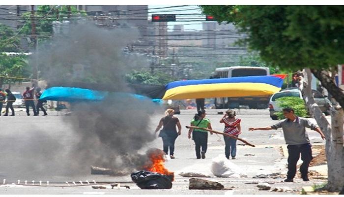 Caos en Maracaibo