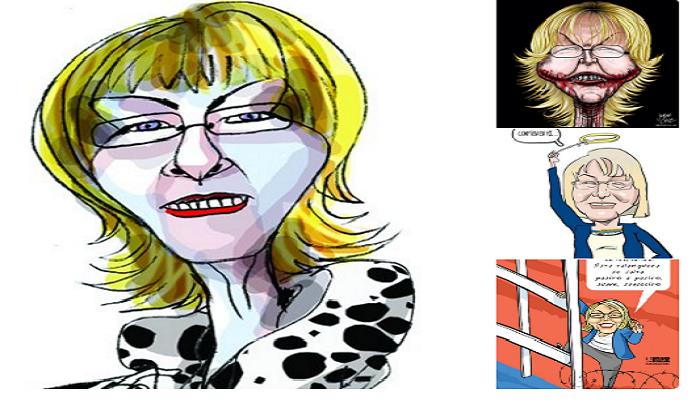 Caricaturistas opositores
