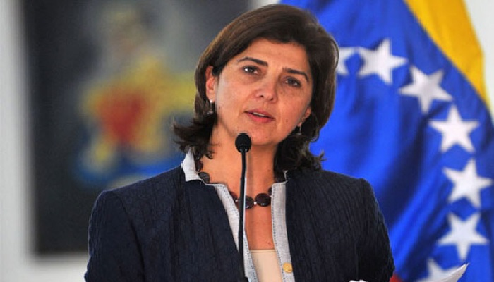 Canciller colombiana