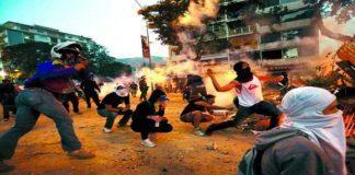 Frente Amplio-Guarimbas-Violencia