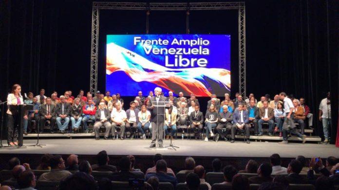 Nuevo Frente Amplio presidenciales