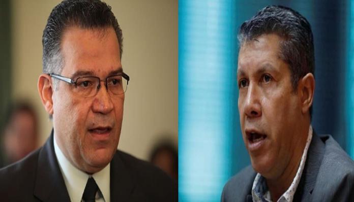Enrique Márquez y Henri Falcon