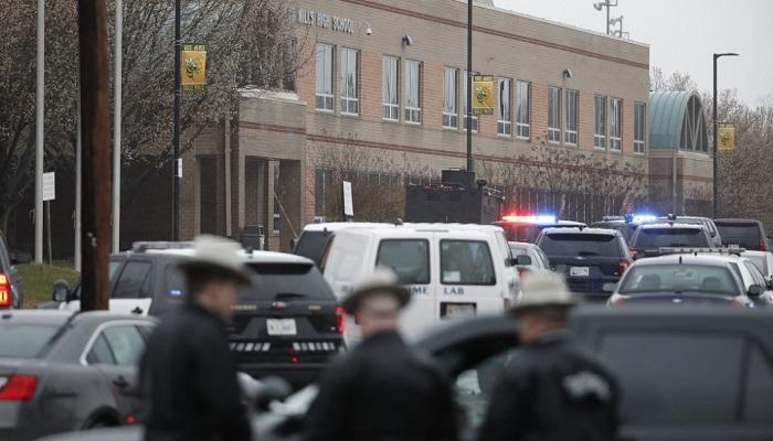 El atacante muerto y dos heridos es el resultado de tiroteo en Maryland