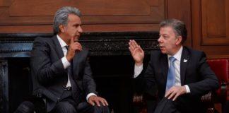 Gobiernos-Lenin-Moreno-Juan-Manuel-Santos-Colombia-Ecuador