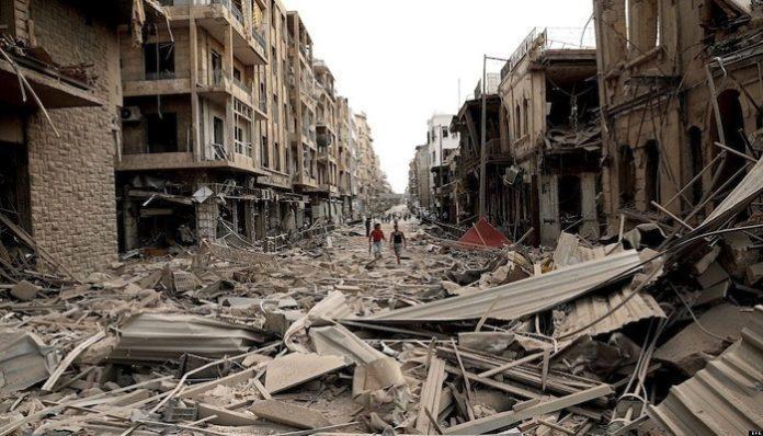 Estados Unidos - Siria-Detalles-Guerra
