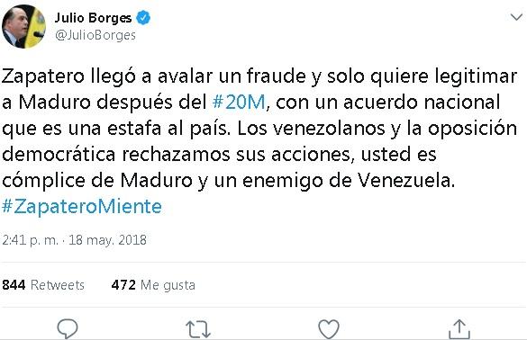 TuitBorges - Zapatero