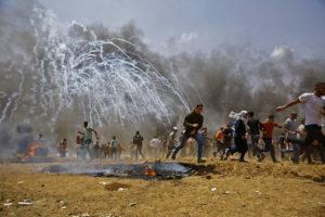 frontera de la Franja de Gaza con Israel2