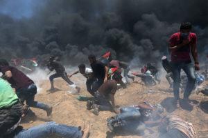 frontera de la Franja de Gaza con Israel8