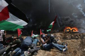 frontera de la Franja de Gaza con Israel9