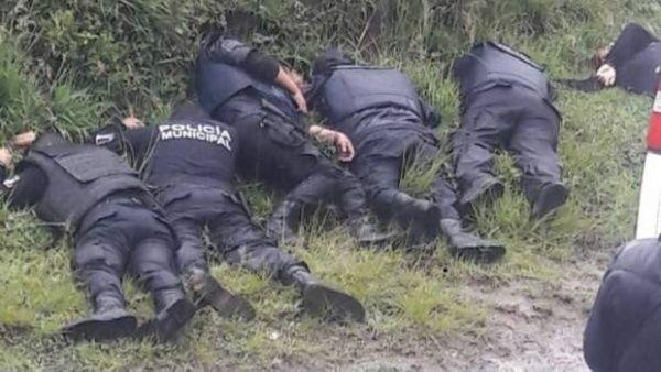 México-Asesinato-Policías