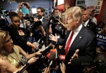 Casa Blanca - Trump - Prensa