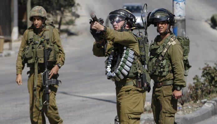 Palestino - Fuerzas Israelíes