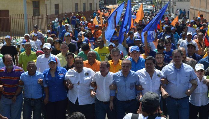 oposición marcha zulia