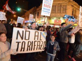 Panameños protesta