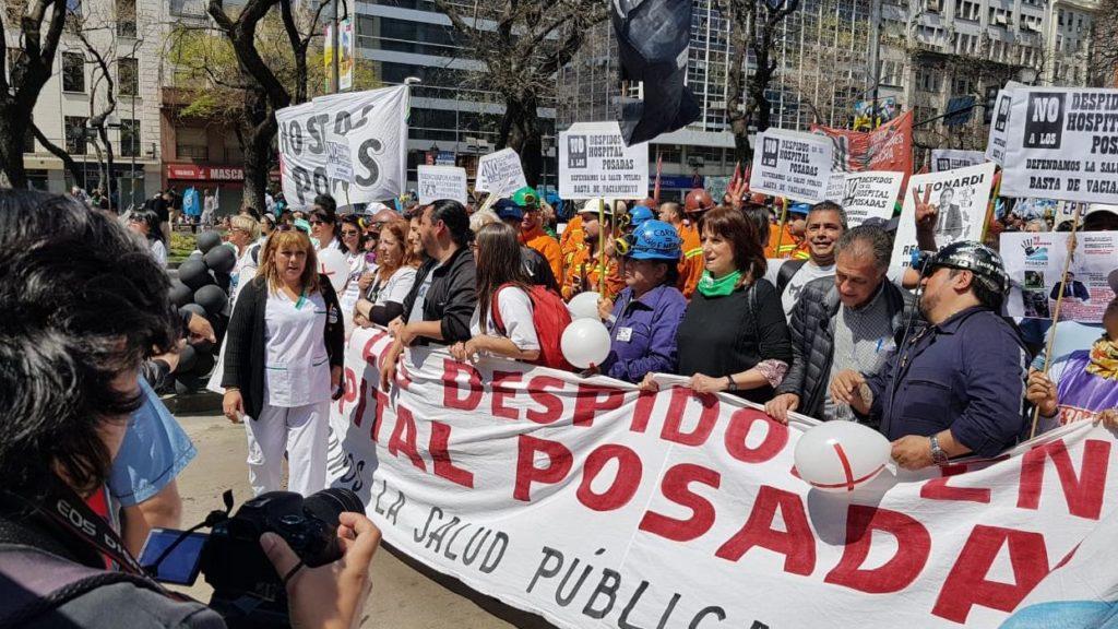 Mauricio Macri - Protestas