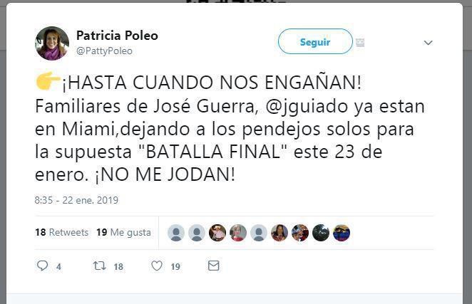 Juan Guaidó - Patricia Poleo
