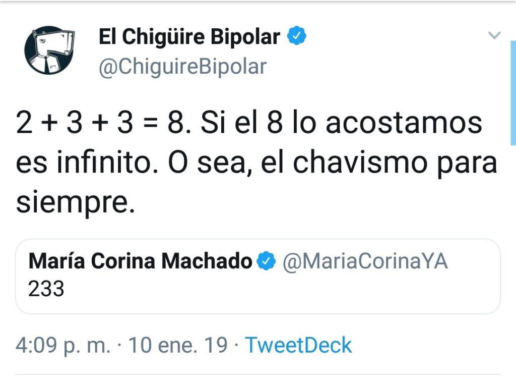 Chigüire Bipolar - María Corina Machado