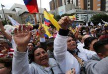 trabajadores protesta ecuador