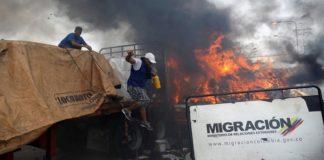 Gandola Ayuda Humanitaria fracaso