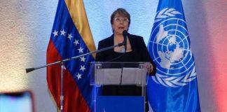 Michelle Bachelet pide con urgencia levantar sanciones sectoriales contra Venezuela