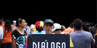 El 59,4% de venezolanos desea un diálogo entre el gobierno y la oposición