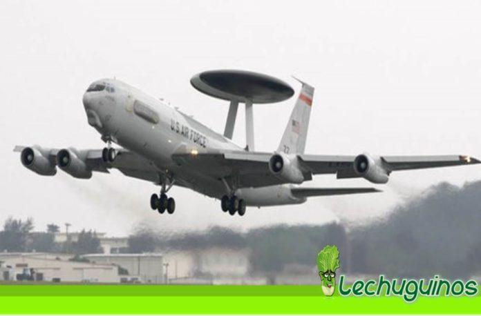 aviones vuelo espia espacio aereo