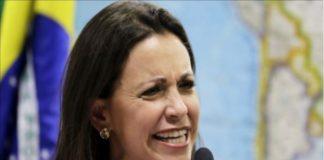 Vea como le cayeron encima a María Corina Machado tras apoyar fuga de Leopoldo López