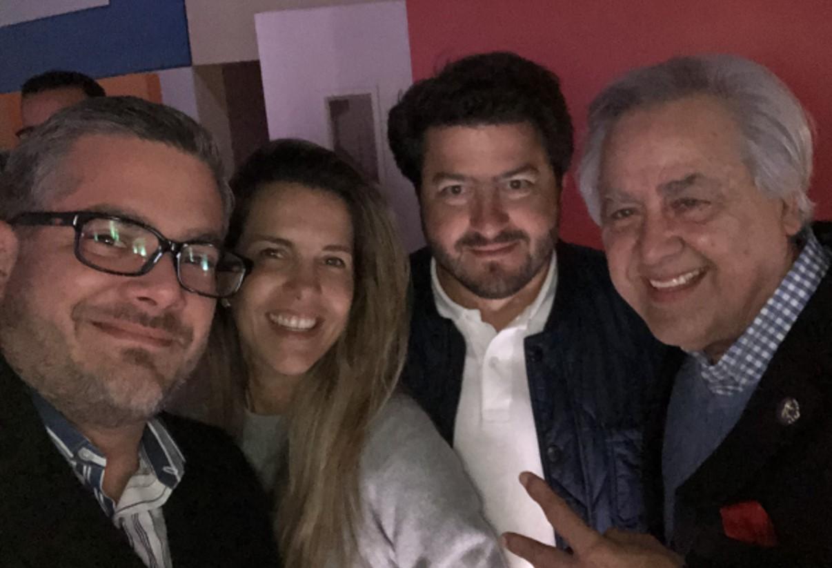 Marcello Henríquez Maionica, María Gabriela Jiménez de Kauffman, Carlos Kauffman, Francisco Tosta