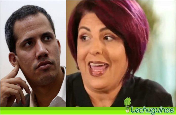 Patricia Poleo no apoyará a Guaidó