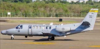 aeronave colombiana territorio venezolano