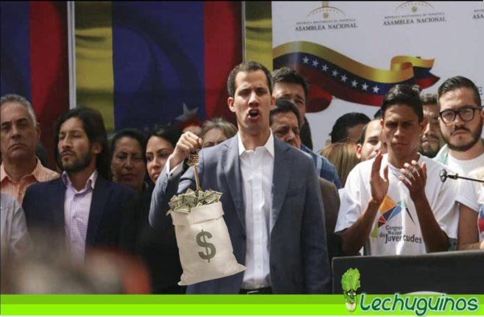 Guaidó dolares paraíso fiscal